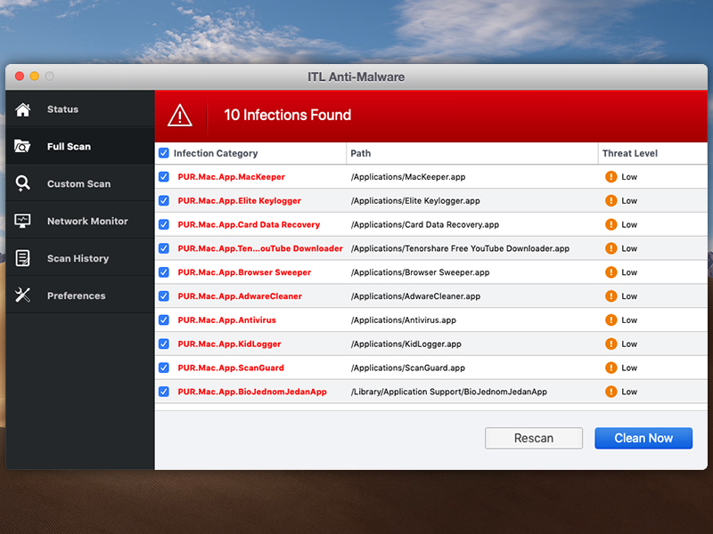 ITL Anti Malware 1.0.0